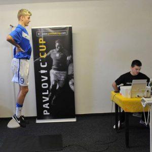 diagnostika hráčov - pavlovic cup